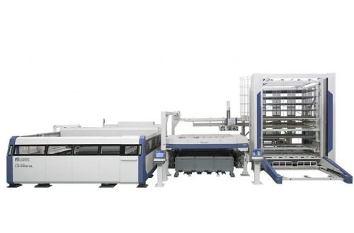 Fiber laser processing machine that realizes various machining
