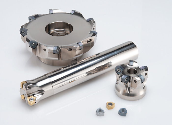 """Double sided Insert Type High Feed Radius Milling cutter""""WJX series"""""""
