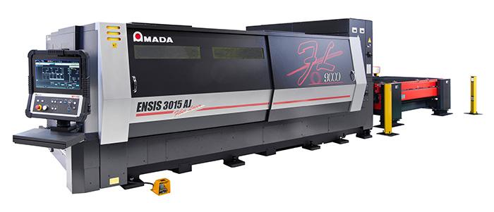 "Fiber Laser Machine""ENSIS-3015AJ (9kW)"""