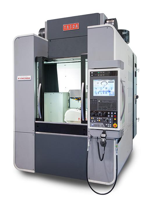 "Vertical 5-axis Machine""YMC 650+RT20″"
