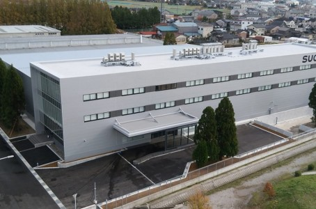 Sugino Machine opened new plant in Namerikawa