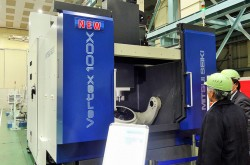 Mitsui Seiki bring out Large-Scale 5 axis MC