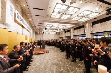 Yamazen held New Year Ceremony at 5 locations in Japan