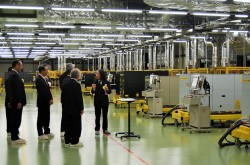 Fanuc opened new laser plant in Mibu