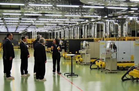 Fanuc opened new laser plant in Mibu