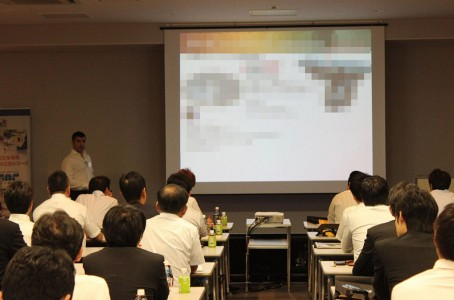 Iscar introduced case examples for auto part machining at a seminar
