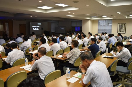 Production Technology Development Center held a lecture at Chubu University