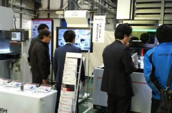 Mitsubishi Electric appealed high productivity at private show