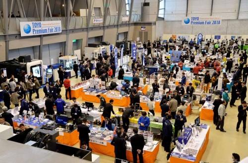 3,800 people at the Toyo Premium Fair