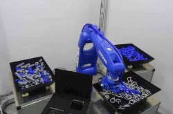AI technology exhibition for the manufacturing industry