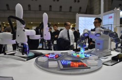 The production value of robots in Japan recorded the highest ever