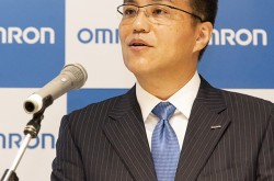 Omron aims for sales of 900 billion yen (1/2