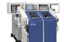 Murata's CNC lathe can automatic replacement of workpieces