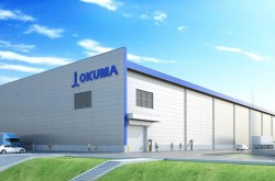 OKUMA established a new plant in Kani city, Gifu pref. that has an integrated manufacturing system for vertical and horizontal MC