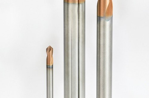 New Solid Carbide Drill for Centering and Chamfering