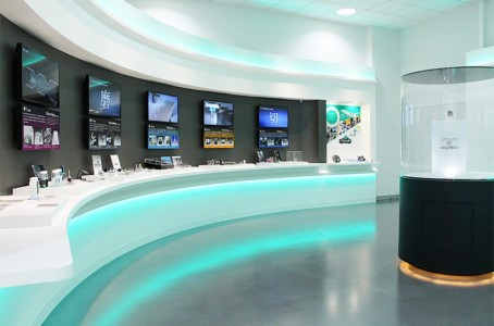 Sugino Machine established exhibition room at the new plant