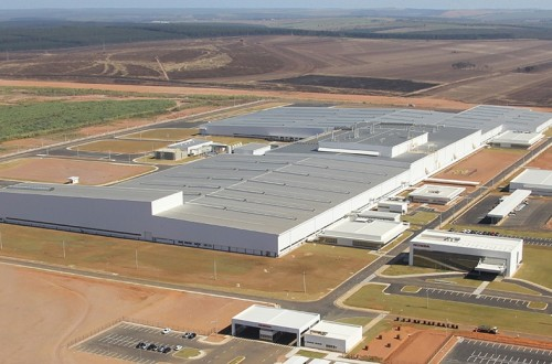 Honda Motor started to manufacture FIT at the new plant in Brazil
