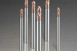 It is suitable for hardened steel by introducing a new coating
