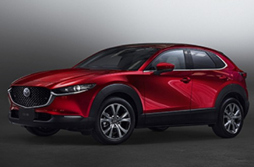 "Mazda launches CX-30 with new generation gasoline engine ""SKYACTIV-X"""