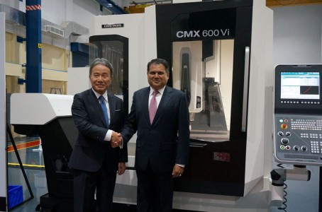 DMG MORI accelerates to expand the business at Indian market(1/2)