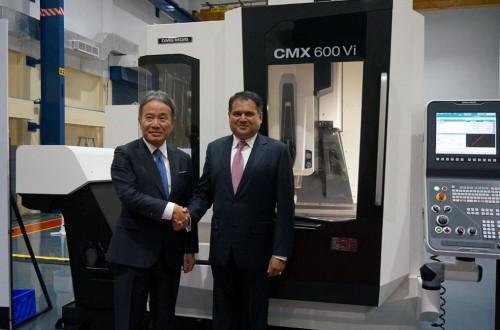 DMG MORI accelerates to expand the business at Indian market(1/2)