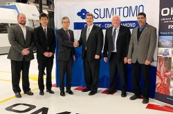 Sumitomo Electric Industries makes a full-scale expansion in the aircraft field