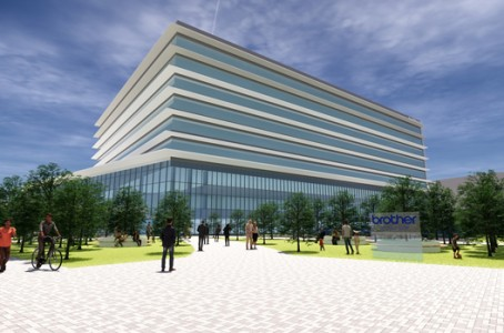 Brother Industries invests 40 billion yen to build the new office building