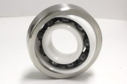 JTEKT developed bearings used in optical film manufacturing equipment which extended the life