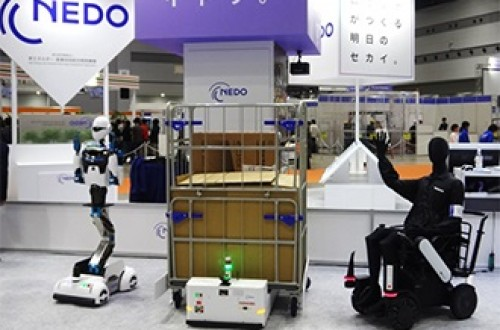 NEDO and Toshiba formulate interface specifications for autonomous mobile robots