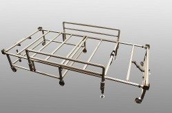 AISIN SEIKI produces a cot beds to support medical sites struggling with COVID-19