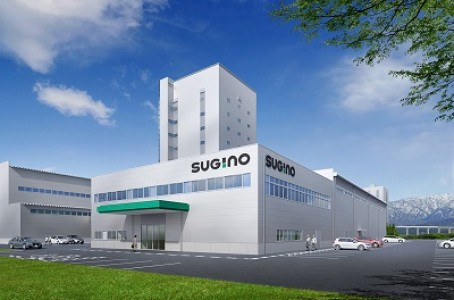 Sugino Machine establishes a new assembly plant for wet pulverization and dispersion device