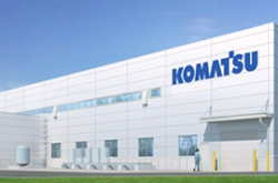 Komatsu build a new plant of seal ring of construction machinery