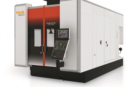 Yamazaki Mazak launches 5-axis machine with improved basic performance