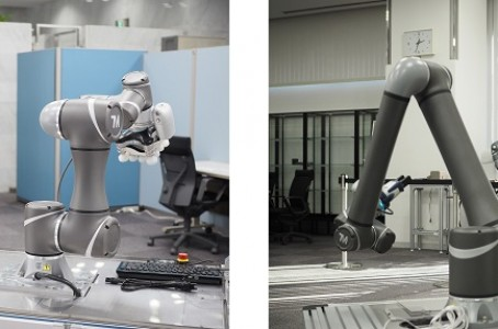 Yamazen opens a showroom dedicated to collaborative robots