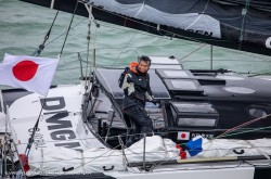 "DMG MORI SAILING TEAM completed the yacht race ""Vendée Globe"""