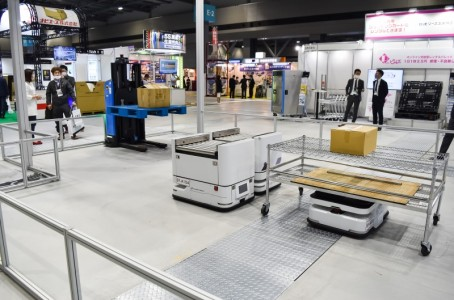 Logis-Tech Tokyo 2021 in Aichi: Many automation solutions shown (2/2)