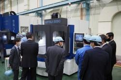 Mitsui Seiki Kogyo showcases latest 5-axis microfabrication machine at open house