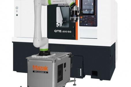 Mazak develops collaborative robot system