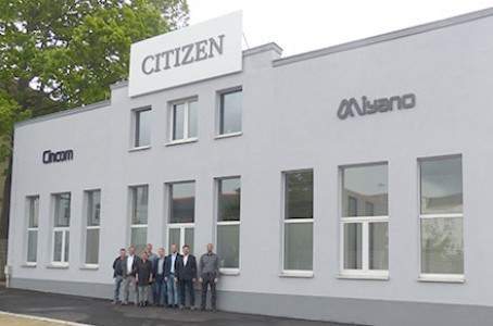 Citizen Machinery Opens Technical Centers in Germany and Italy