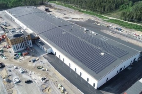 Komatsu's first carbon neutral plant starts production in Umea, Sweden