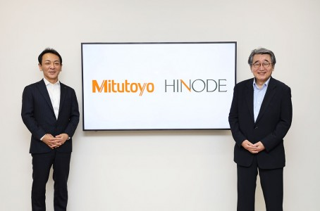 Mitutoyo and Hinode form business alliance in casting production
