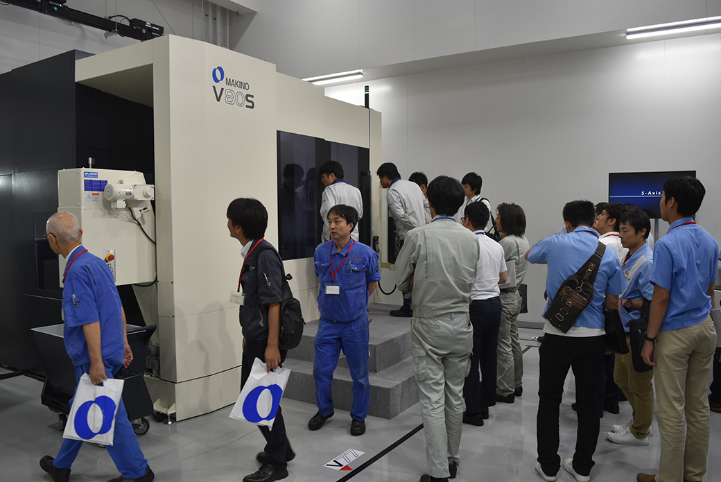 Makino Milling Machine Showcased A New Vertical 5 Axis Mc